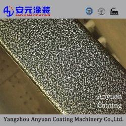 Revestimiento en polvo de pulverización con agente de la textura de productos químicos industriales