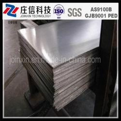 Revêtement en titane pur à 99.99 % des plaques de métal