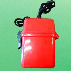 Nome da ID de caso Multi-Card impermeável Monograma Cartão Holder-Red