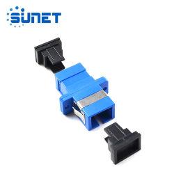 Adaptateur de bride coupleur optique SC simplex de type APC UPC adaptateur fibre optique