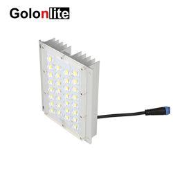 LED 거리 정원 빛 모듈 LED 프로젝트 램프 열 싱크