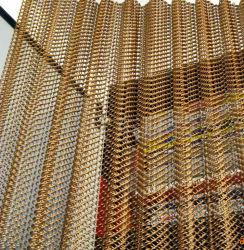 고품질 장식적인 금속 체인 연결 커튼