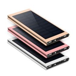 태양 30000mAh 힘 은행 Xiaomi Mi iPhone Samsung를 위한 외부 건전지 2 USB LED Powerbank 휴대용 이동 전화 태양 충전기