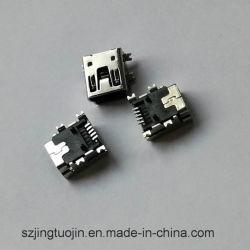 Mini USB Femelle -5P du connecteur de CMS