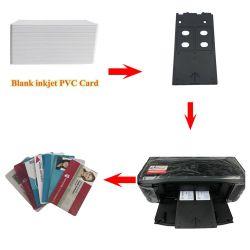 Para inyección de tinta en blanco para imprimir tarjetas de plástico de PVC