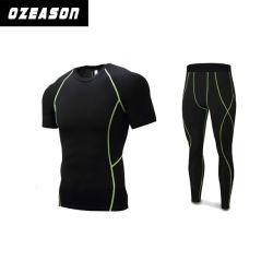 L'OEM assiste i vestiti su ordinazione all'ingrosso di usura di forma fisica di sport delle calzamaglia di compressione