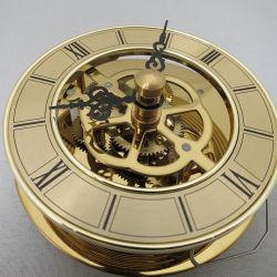 핫 셀 새로운 골드 컬러 시계 인서트 스켈레톤 시계 인서트 동관 운동