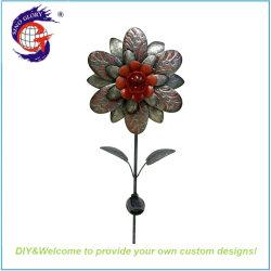 ヤードの装飾のための旧式な金属の亜鉛の花のヘビ