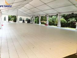 Ereignis-Plattform-Schutz-Bodenbelag-weiße Plattform für beweglichen Ausstellungsraum-im Freienschutz-Bodenbelag