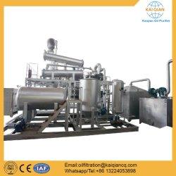 La pirólisis de plástico a la planta de destilación de petróleo diesel