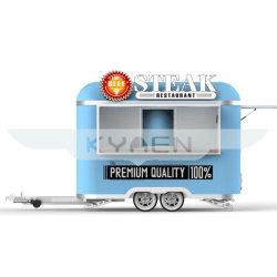 Kebab Van fuerte expendedoras de alimentos Van camión de alimentos con el equipo de cocina