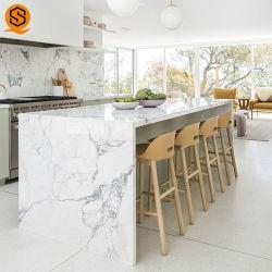 Countertop van de hoogste Kwaliteit Gemakkelijk om de Teller van de Keuken van de Steen van het Kwarts voor de Decoratie van het Huis schoon te maken