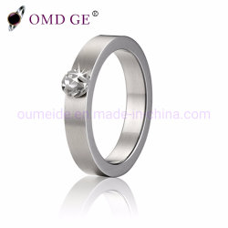 블링 블링 다이아몬드 맞춤형 텅스텐 링