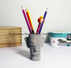 Le semoir en béton de la Chine masque Statuette Statuette Ciments de l'artisanat