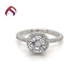 方法女性のための標準的な宝石類925の純銀製の宝石類の約束の結婚指輪