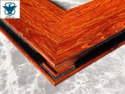 Perfil de aluminio Madera vacío modelo acabado de la superficie de transferencia de calor