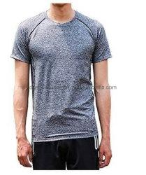 남성용 티셔츠 도매 블랭크 디자인 로고 자수 인쇄 사용자 정의 OEM ODM Cotton CVC TC Poly