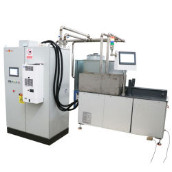 냉각을 강하게 하는 자동적인 CNC 기어 샤프트 열처리를 위한 격판덮개에 색인을 붙이기를 가진 공작 기계를 부드럽게 하기