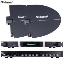 Sinbosen Hg-890 Berufsantennenverstärker-drahtloses Mikrofon-System für Stadium