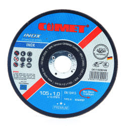 4 및 rdquor; 이노x 금속 강철 연마용 절단 디스크