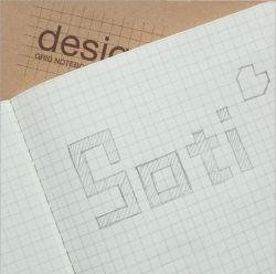 Una cuadrícula de 5mm4 Libro de la cuadrícula de diseño de libro Portátil para ingeniería de la geometría de las tareas de dibujo