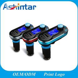 Kit para leitor de MP3 Transmissor FM Pausa Automática Wireless carregador de automóvel