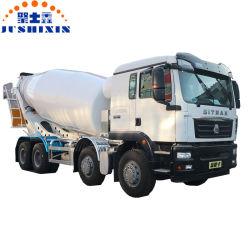 La construction de bâtiments de gros camions lourds de transport 8*4 Bétonnière chariot