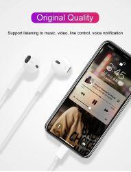 고품질 이어폰 이동 전화 이어폰 헤드폰 플러스 iPhone 6/6s /6s를 위한 타전된 이어폰 3.5mm 플러그 스피커