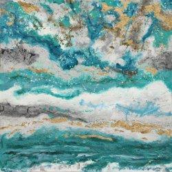 Nieuw Ontwerp Europese Kleurrijke Abstractpaintings canvas-Ii