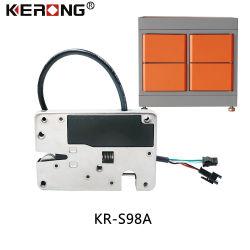 Motor Eletrônico de Alta Segurança Kerong travamento do armário para armazenamento de Metal Inteligente Locker cacifo fresca