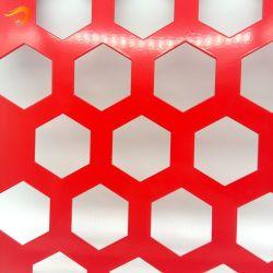 Декоративная архитектура здания алюминиевый перфорированный лист металлические ограждения панели