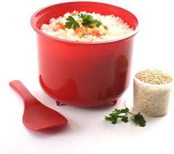 2.6L Panela a vapor arroz de forno de microondas