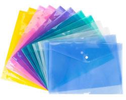 Datei-Faltblatt der freies des Beispielpp. kundenspezifisches pp. Tasten-für A4