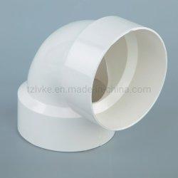 UPVC/PVC/Plástico/ Dwv codo adaptador de drenaje de plástico