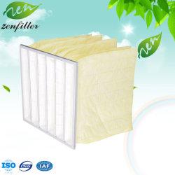 F8 de la classe moyenne Sac Pochette fine du filtre à air de fibres synthétiques de l'industrie Non-Woven sac du filtre à air du filtre à air pour l'hôpital médical de chauffage-climatisation électronique et de salles blanches