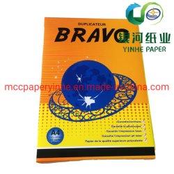 El grado a 110% el brillo del papel de copia del rollo de papel Papel de oficina de 80 g.