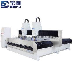 Bd2030 macchina 3D Stone CNC a doppio mandrino/Routing CNC/Stone CNC Incisore/Ingravatrice CNC/Carvatrice CNC per pietre