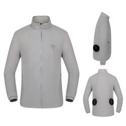 Camisa do ventilador de refrigeração de lazer moda Vest leve roupa de ar condicionado