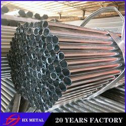 고온의 갈바니ized Gi Steel ERW 용접 강 할로우 섹션 배관
