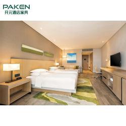 El color de luz chapa&melamina&Superficie laminada conjuntos de muebles de la habitación de hotel