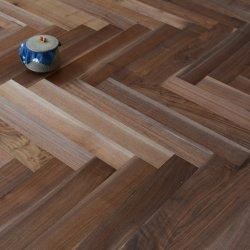 Walnut pavimento impermeável Solid pisos de madeira