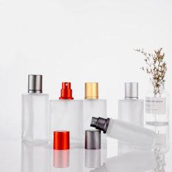 Fles van het Parfum van het Glas van de douane de Uitstekende voor Persoonlijk Glaswerk of Parfum met het Verschillende Deksel van de Nevel