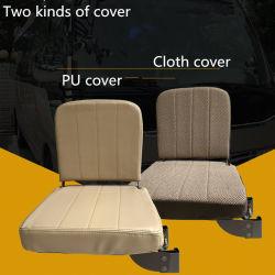 トヨタのコースターのための工場ファブリック折りたたみシートのスクールバスの助手席