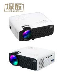 O projector 1080p nativa OEM de venda quente Multimedia Projector de Vídeo Full HD de Filmes de cinema Cinema Projector LCD
