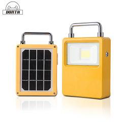 مصباح طوارئ قابل لإعادة الشحن مصباح LED ضوء خيمة التخييم الشمسية بقدرة 10 واط 20 واط، 30 واط، 50 واط