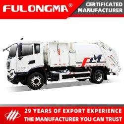 풀롱마 폐기물 분류 쓰레기 분류 분할 본체 쓰레기 콤팩터 트럭