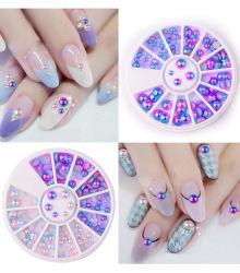 예술 못 훈장 스티커 아름다움 못은 공급 매니큐어 수정같은 돌 모조 다이아몬드 아름다움 기구 Manicure&Pedicure 세트 Peals를 기울인다