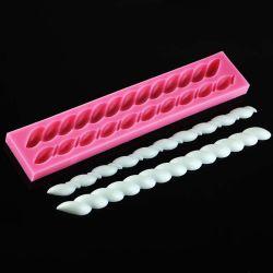 3D-свеча форма силиконового герметика торт пресс-формы для выпечки