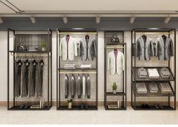 الخشب والمعادن الملابس متجر عرض الأثاث الملابس حامل