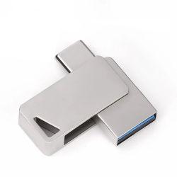 Drehungstyp C OTG USB 3,0 Flash Drive 32GB Pendrive